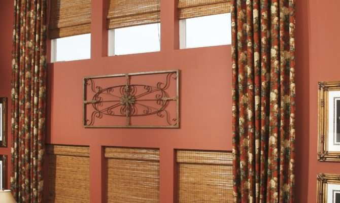 Beautiful Custom Large Window Treatments Long Curtain