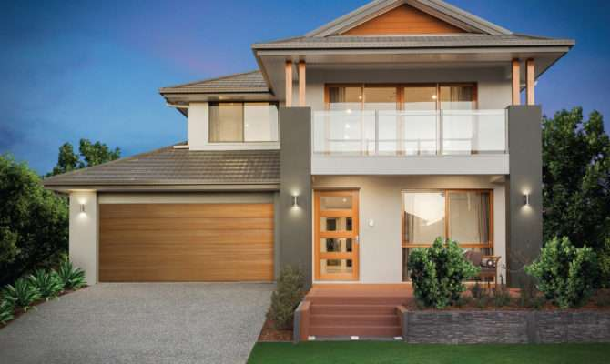 Beautiful Double Storey Houses Modern House