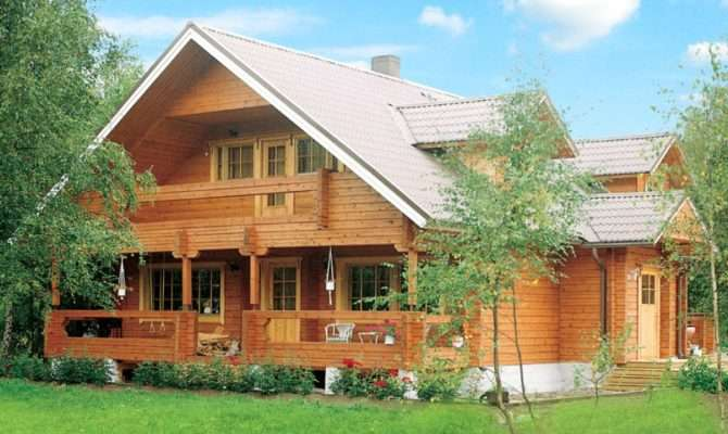 Beautiful Frame Wooden House Sauna Timber