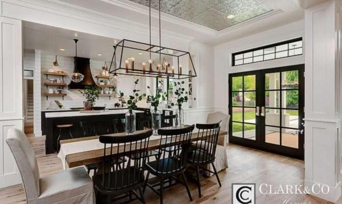 Beautiful French Farmhouse Dining Room Design Ideas