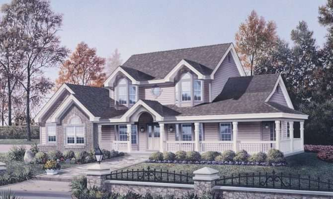 Beautiful Hip Roof Colonial House Plans Find Plan