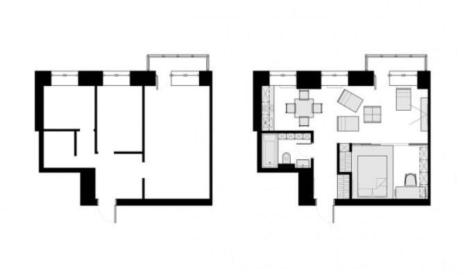 Beautiful Homes Under Square Feet