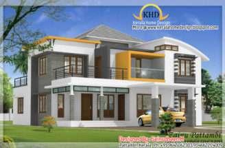 Beautiful House Elevation Designs Kerala Home Design Floor Plans