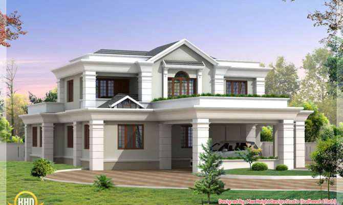 Beautiful Indian House Elevations Kerala Home Design Floor
