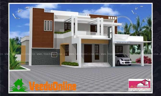 Beautiful Kerala Home Design Square Feet