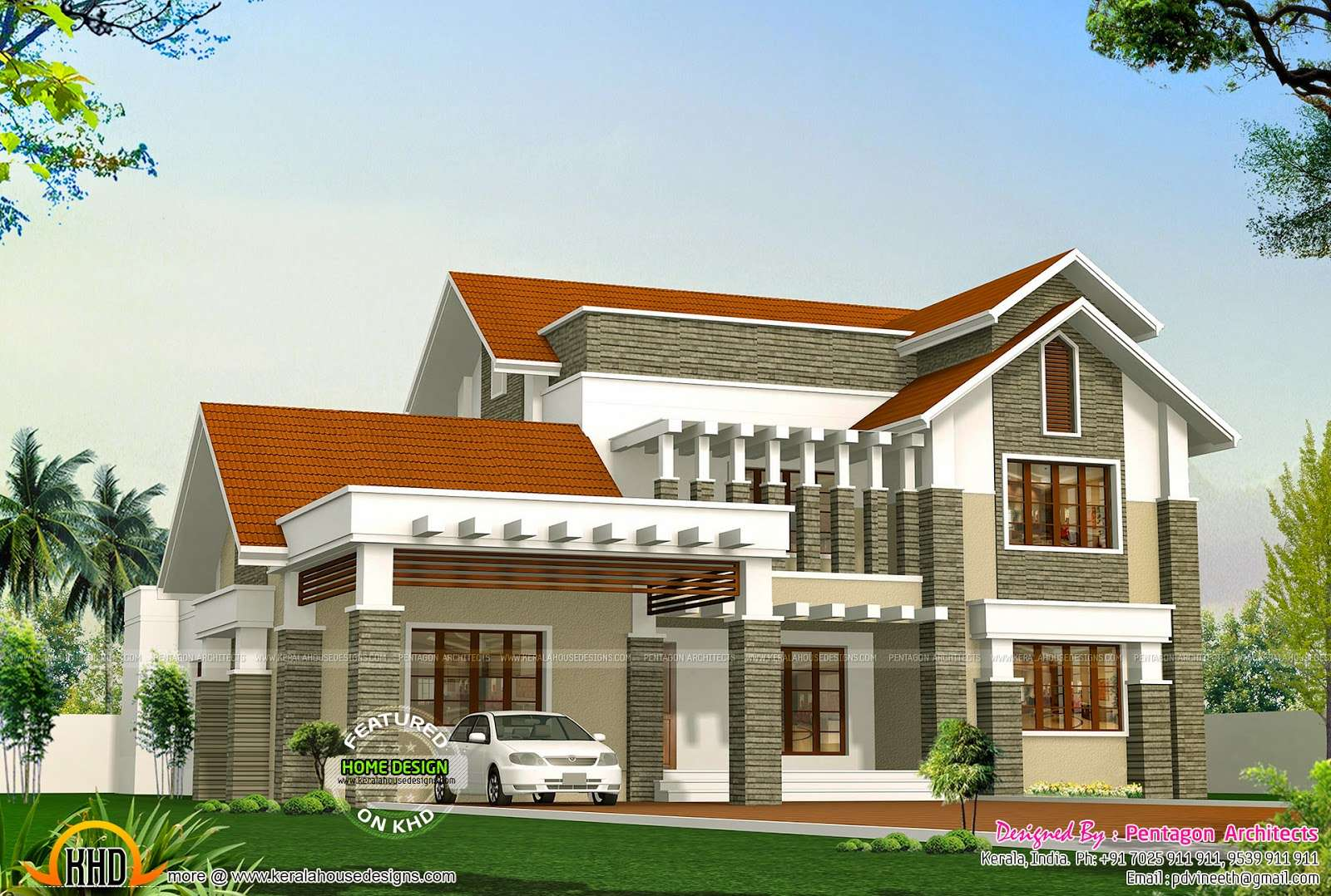 Beautiful Kerala Houses Pentagon Architects