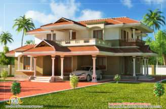 Beautiful Kerala Style Story House Home