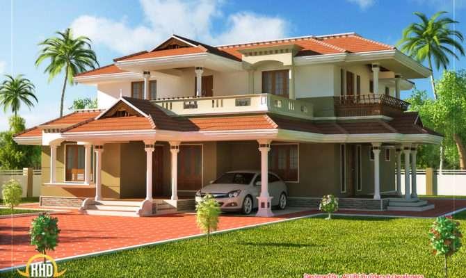 Beautiful Kerala Style Story House Home