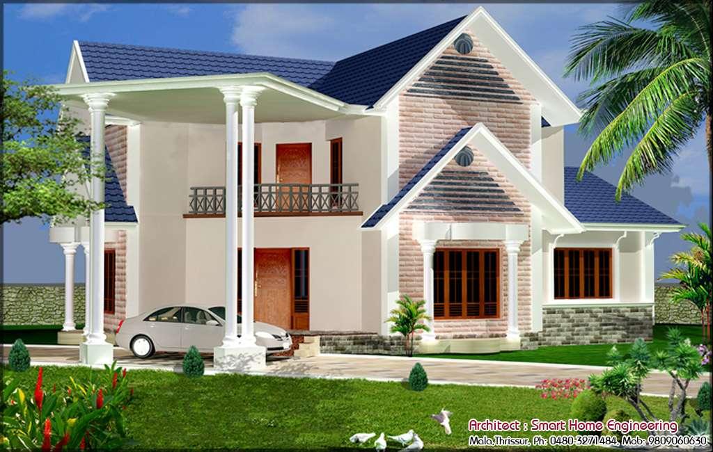 Beautiful Low Budget Kerala House Design