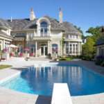 Beautiful Mansions Pools Exterior Mansion Pool Design