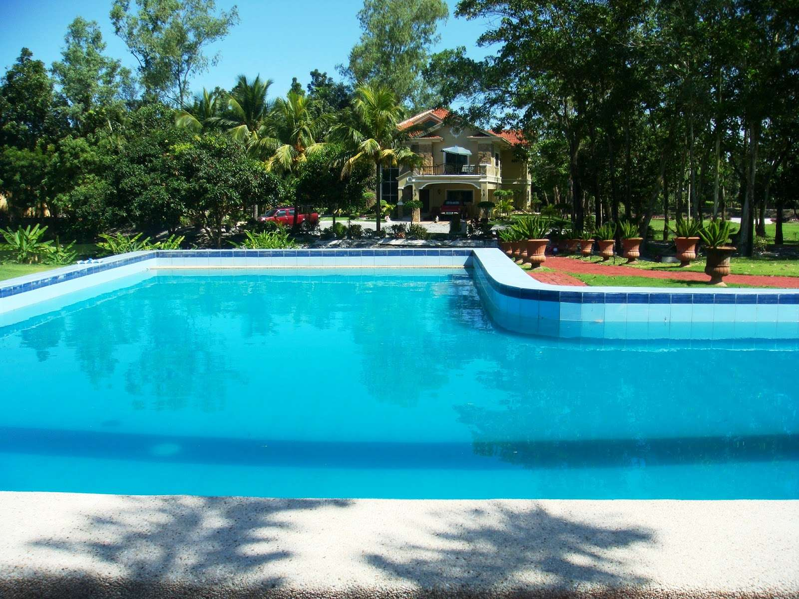 Beautiful Mansions Pools