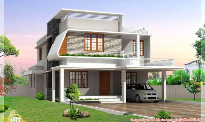 Beautiful Modern Home Elevations Kerala Design