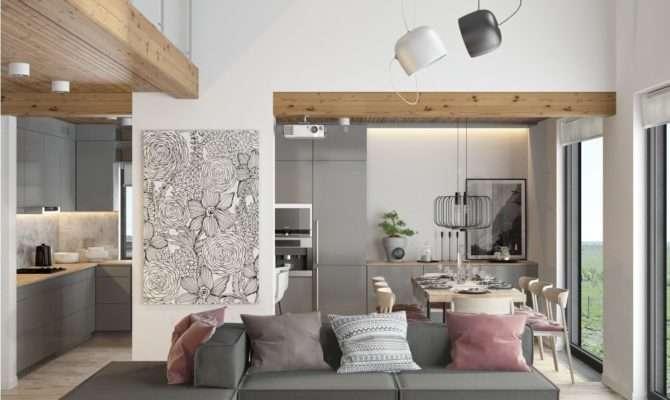 Beautiful Modern Minimalist Loft