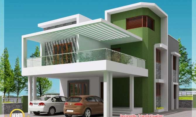 Beautiful Modern Simple Indian House Design Kerala