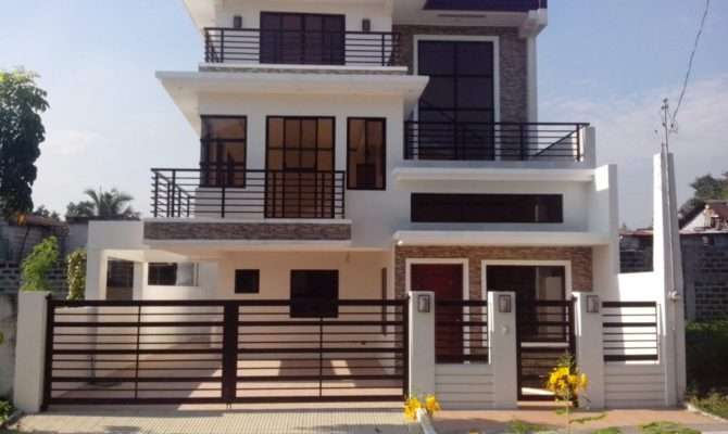 Beautiful Modern Storey House Plans New Home Design