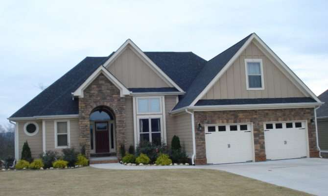 Beautiful One Half Story House Home Building