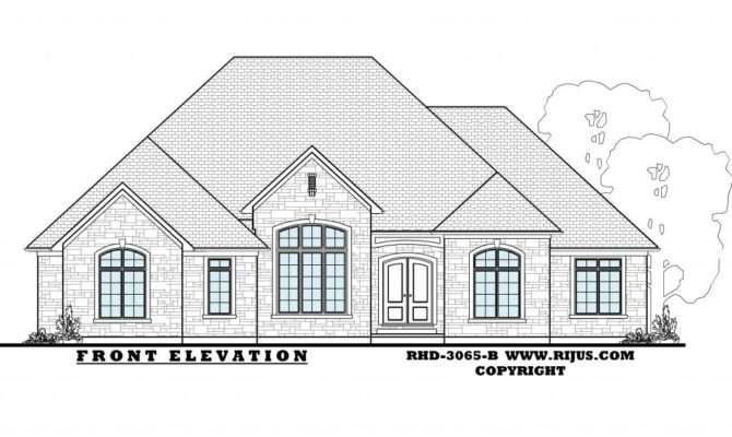 Beautiful Ontario House Plans Architecture