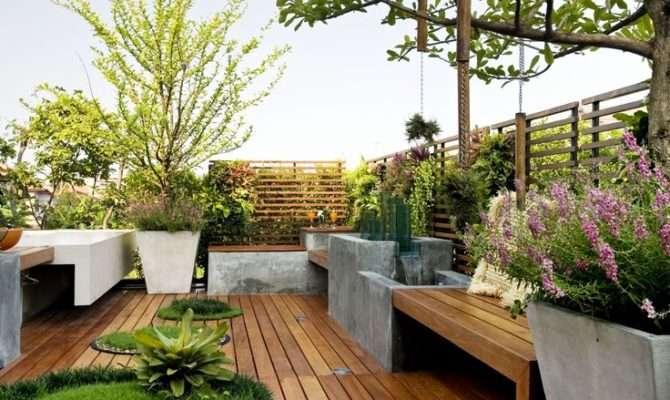 Beautiful Rooftop Garden Designs Get Inspired