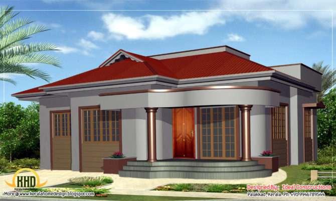 Beautiful Single Story Home Design