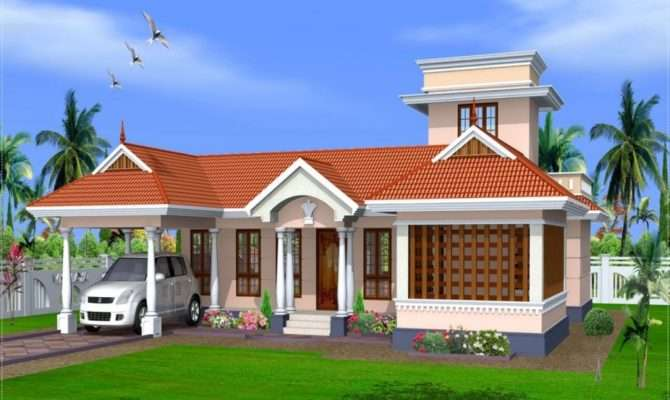 Beautiful Small Houses Kerala Joy Studio
