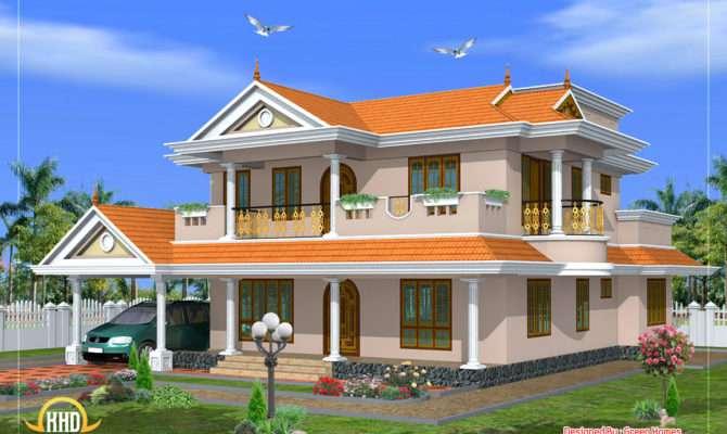 Beautiful Storey House Design Square Meters