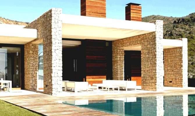 Beautiful White Brown Wood Glass Simple Design Cool Modern
