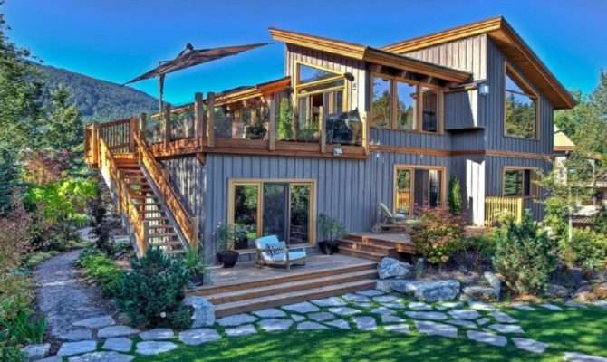 Beautiful Wood House Interior Exterior Design Ideas