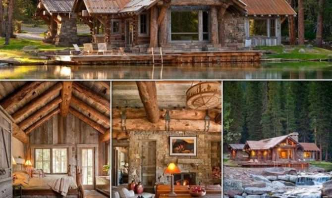 Beautiful Wooden House Forest Romston