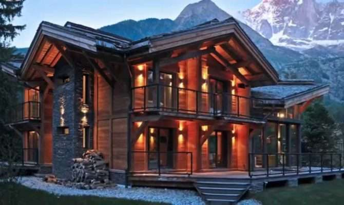 Beautiful Wooden Houses Sweet Homes