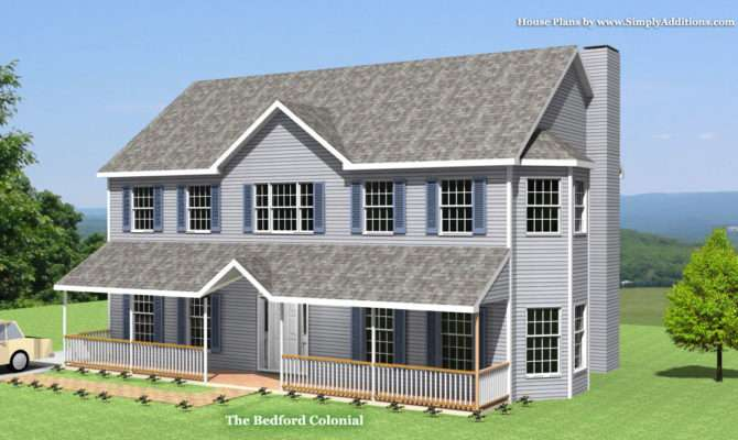 Bedford Modular Colonial House