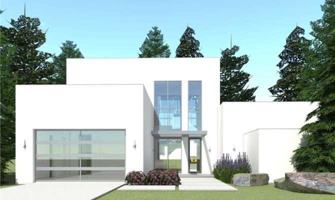 Bedrm Concrete Block Icf Design House Plan