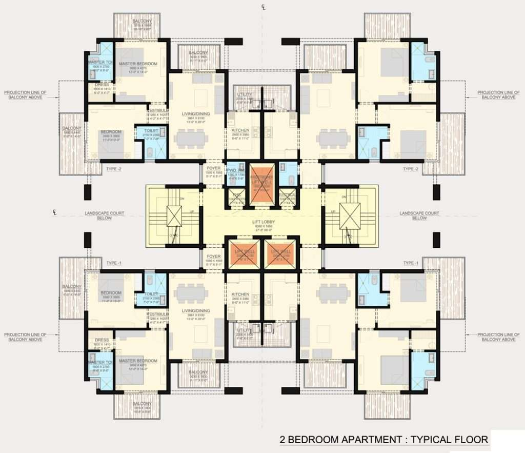Bedroom Apartment Floor Plans Brucall