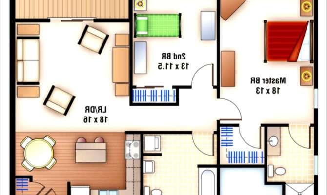 Bedroom Apartment Layout Ideas House Design Plans