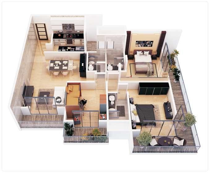 Bedroom Apartment Marceladick