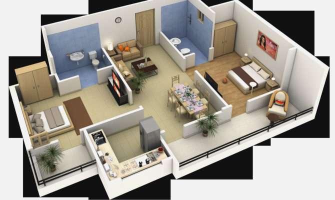 Bedroom Apartmenthouse Plans Ideas House Interior Design