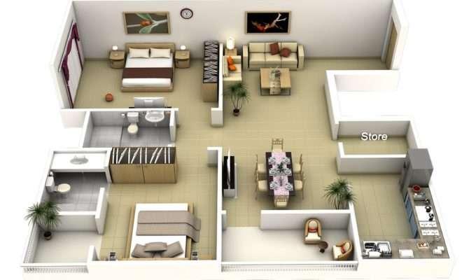 Bedroom Apartments North Side Salisbury Floor