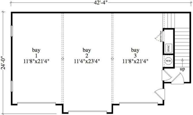 Bedroom Bath Colonial House Plan Alp