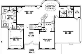 Bedroom Bath Southern Farmhouse Country Style House Plan