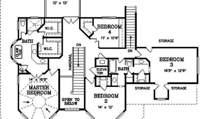 Bedroom Bath Victorian House Plan Alp
