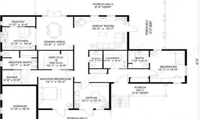Bedroom Beach House Blueprints Floor Plans Design