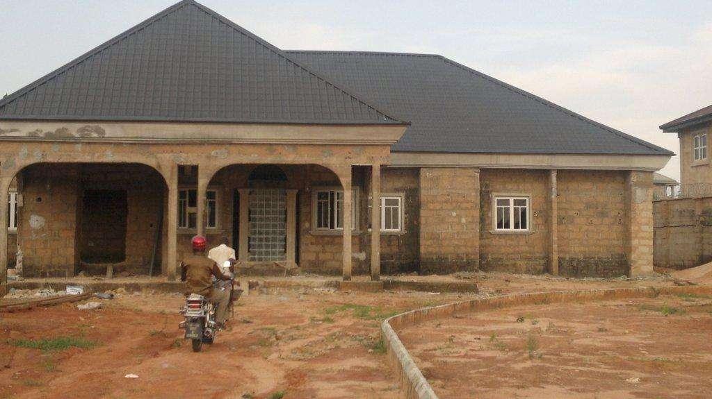Bedroom Bungalow House Plans Nigeria Cost Building