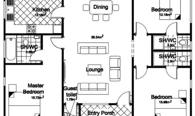 Bedroom Bunglow Floor Palns Joy Studio Design Best