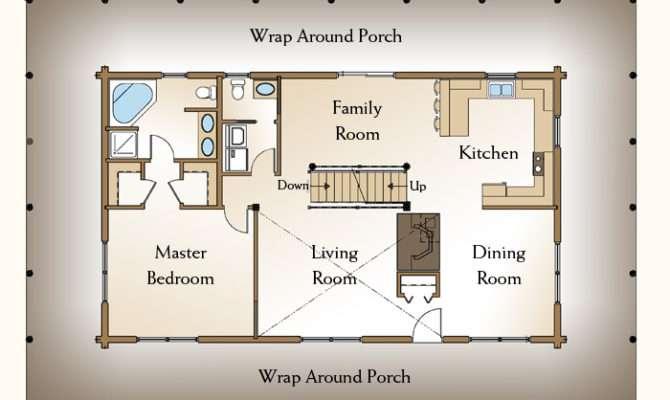 Bedroom Cabin Floor Plans Real Estate