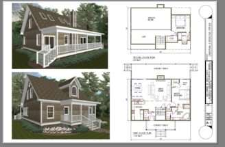 Bedroom Cabin Plans Loft Quotes
