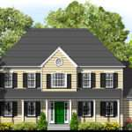 Bedroom Colonial Home Plans Sale Original