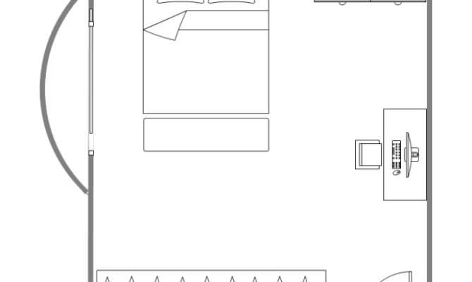 Bedroom Design Layout Templates
