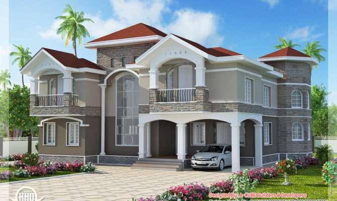 Bedroom Double Floor Indian Luxury Home Design