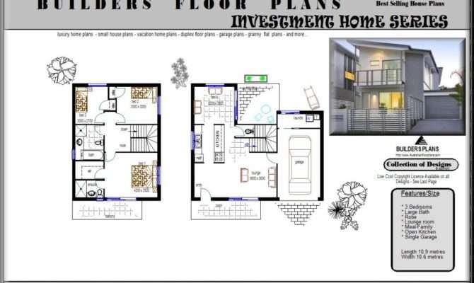 Bedroom Duplex Floor Plans Builders Joy Studio Design