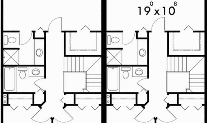 Bedroom Duplex House Plans Story