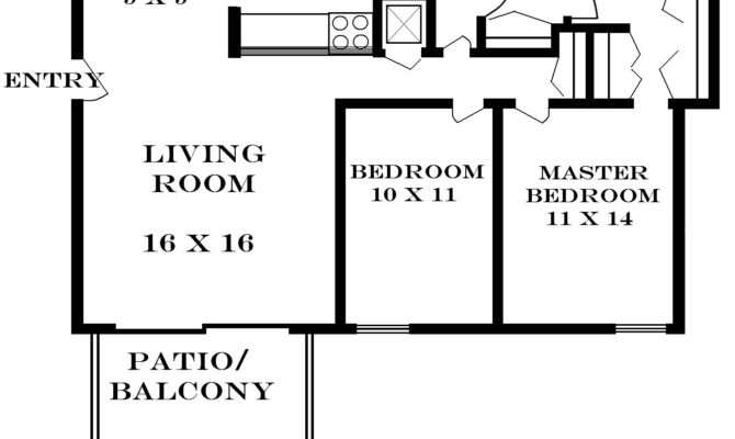 Bedroom Floor Plans House Home Deco